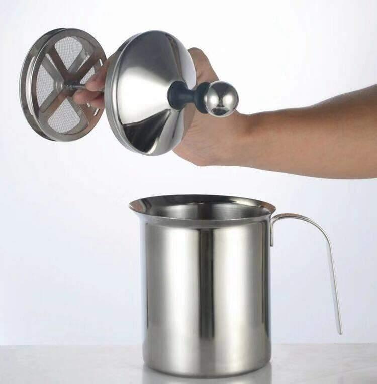 Espumador de Leite, Cremeira para Cappuccino 400ml