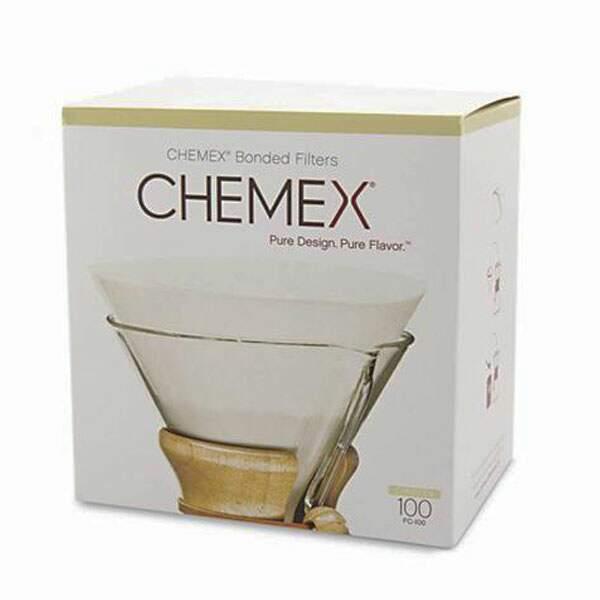 Filtro Chemex - Circular - Pré-dobrado - 100 und