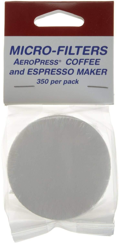 Filtro para Aeropress - descartáveis - 350 unidades