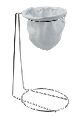 Kit 10 Mini Coadores de Café com Suporte P