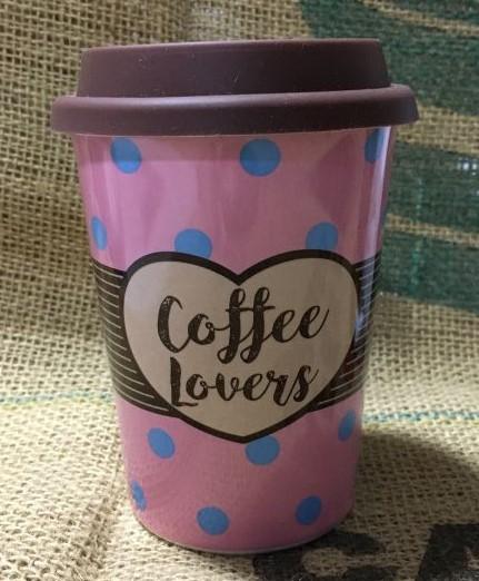 Kit Copo para Viagem Coffee Lover e Café Vale dos Barbados