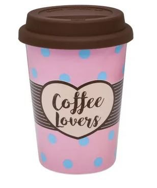 Kit Copo Térmico para Viagem Coffee Lover e Café Vale dos Barbados