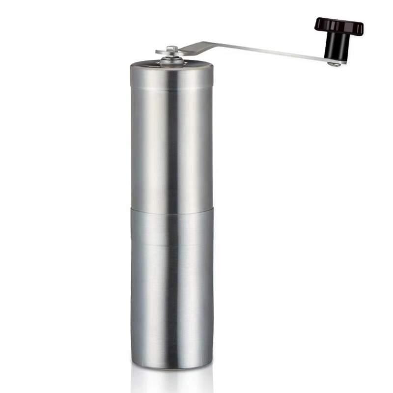 Moedor de café manual prata pequeno