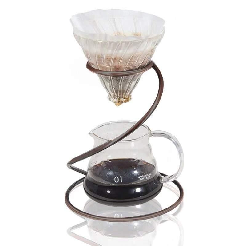 Suporte de Aço Inox para Coador de Café