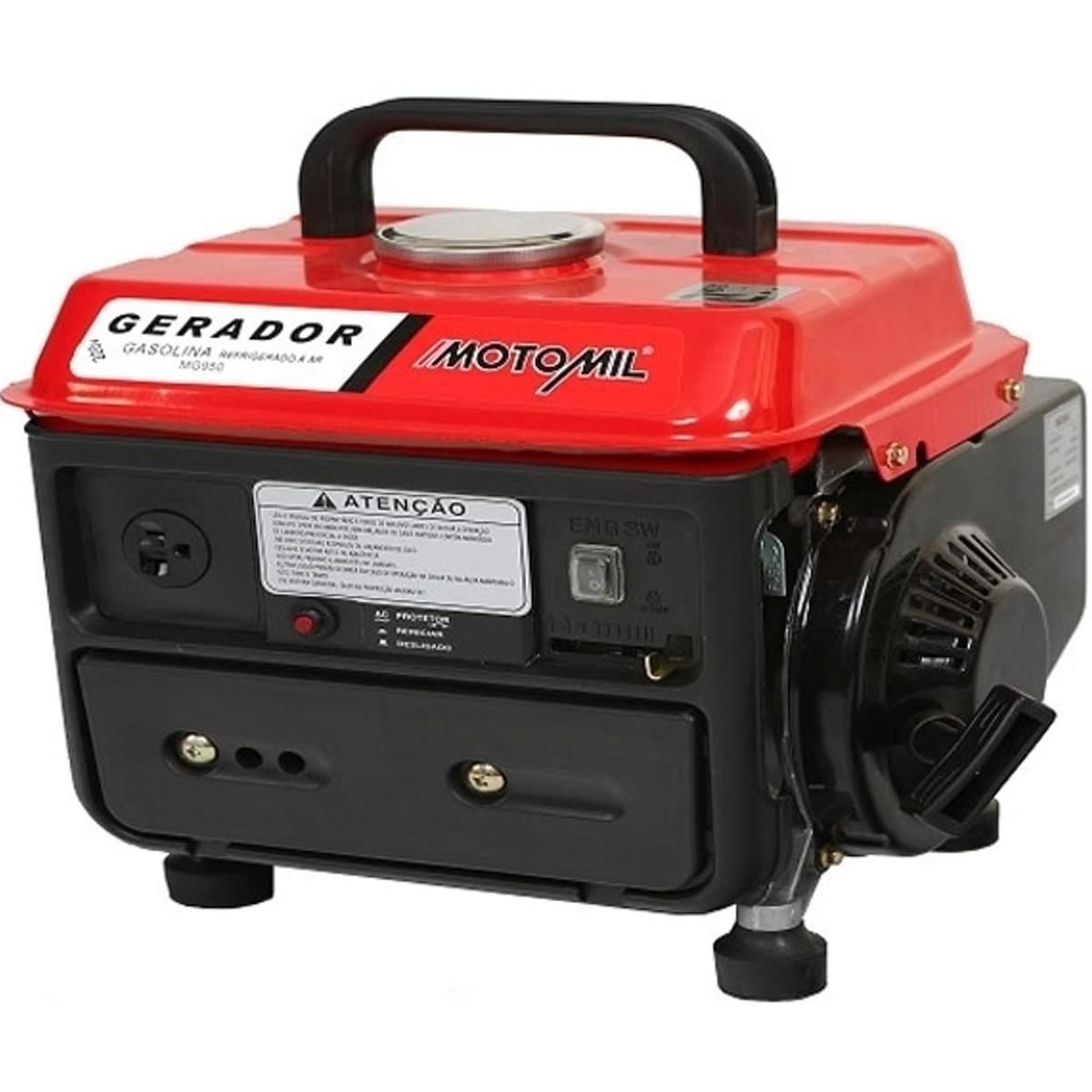 GERADOR MG- 950 800W 60HZ 2T 12VDC 220V A GASOLINA