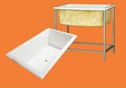 Banheira de Fibra Pequeno Para Banho E Tosa Pet Shop