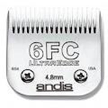 Lâmina de tosa Andis 6FC - 4,8mm