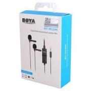 Microfone de Lapela Duplo Boya -BY-M1DM