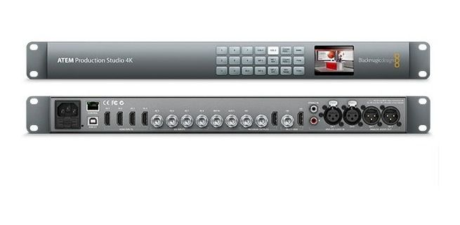 Blackmagic Design ATEM Production Studio 4K com Switcher ao Vivo
