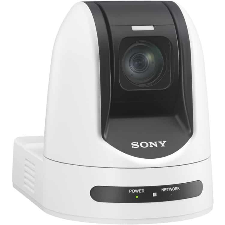 Câmera PTZ Sony SRG360SHE Triple-Stream PoE+, Full HD, 3G-SDI, HDMI