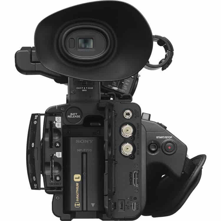 Câmera Sony NX5R Full HD 3CMOS