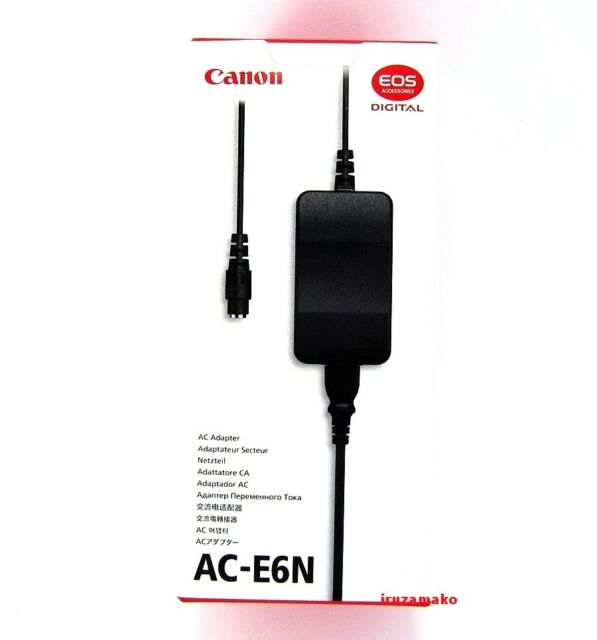 Kit Canon AC-E6N AC Adapter com DC Coupler DR-E6