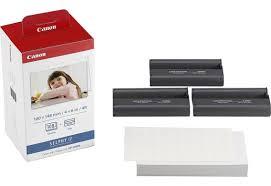 Kit Impressão Papel + Tinta Canon Kp-108in Selphy Novo