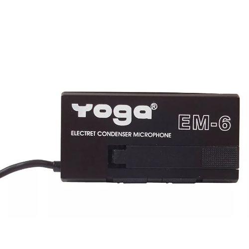 Microfone Yoga de Lapela Com Fio EM-6