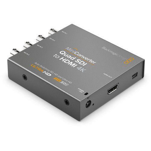 Mini Conversor Quad SDI para HDMI 4K