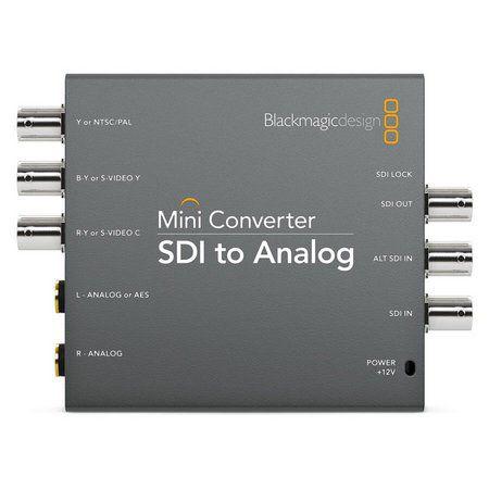 Mini Conversor SDI para Analógico