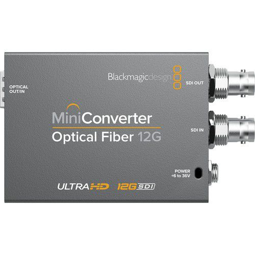 Mini Converter Optical Fiber 12G Blackmagic Design