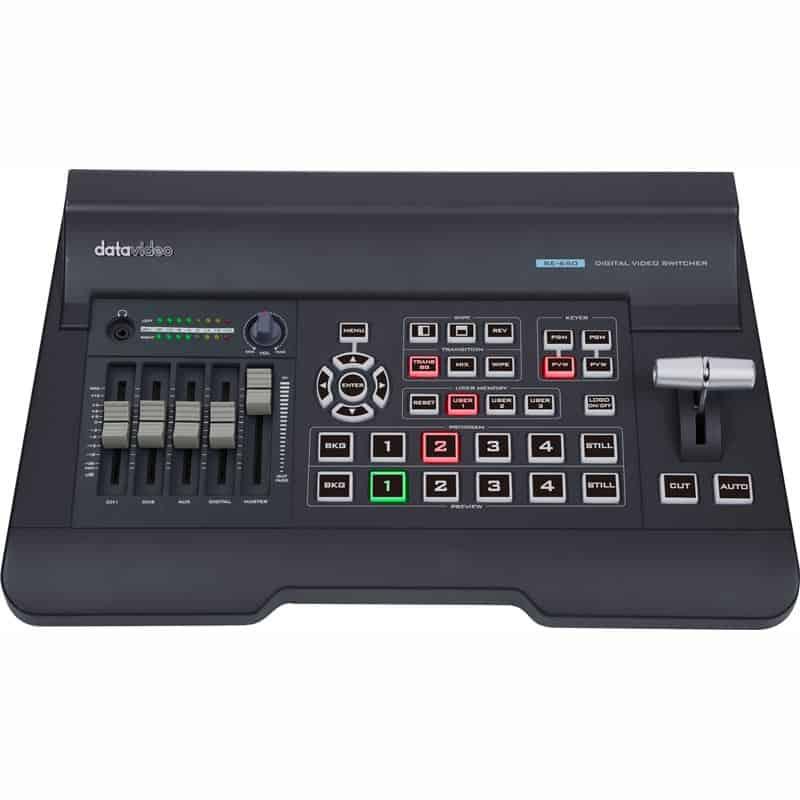 Switcher Datavideo SE-650 de vídeo HD