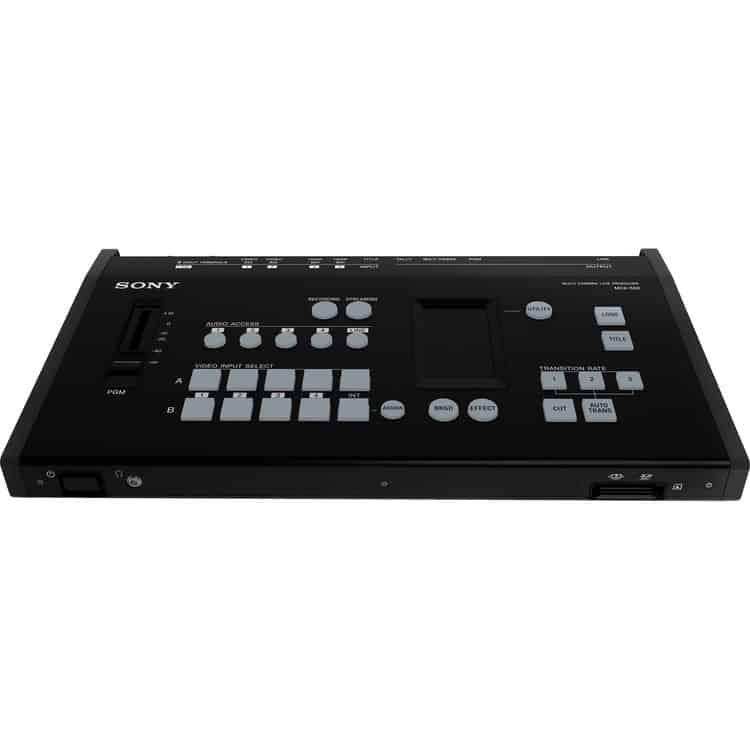 Switcher MCX-500 Sony 4 Entradas com Streaming e Gravação