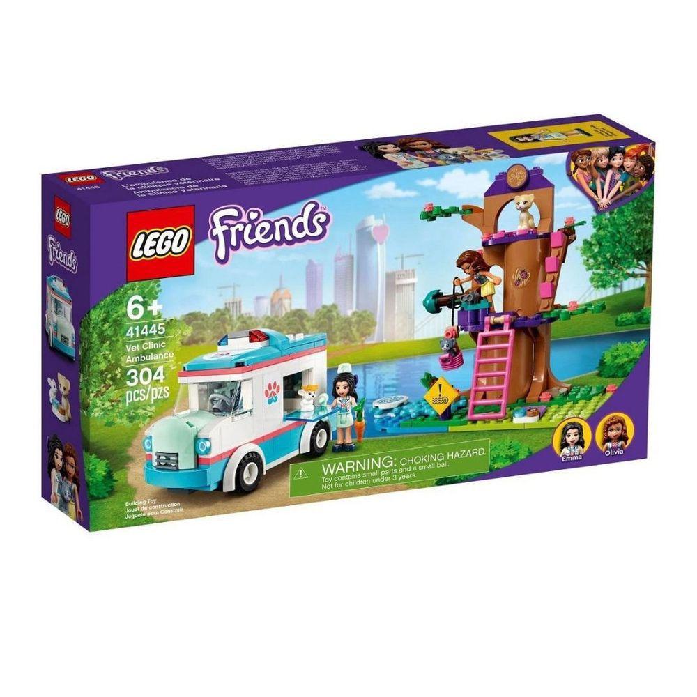 LEGO AMBULANCIA DA CLINICA VETERINARIA