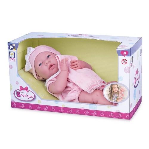 Boneca Boutique Berenguer Baby Ninos (Deitada - Cotiplás)