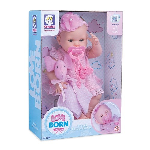BONECA LOVE BORN HORA DA NANINHA
