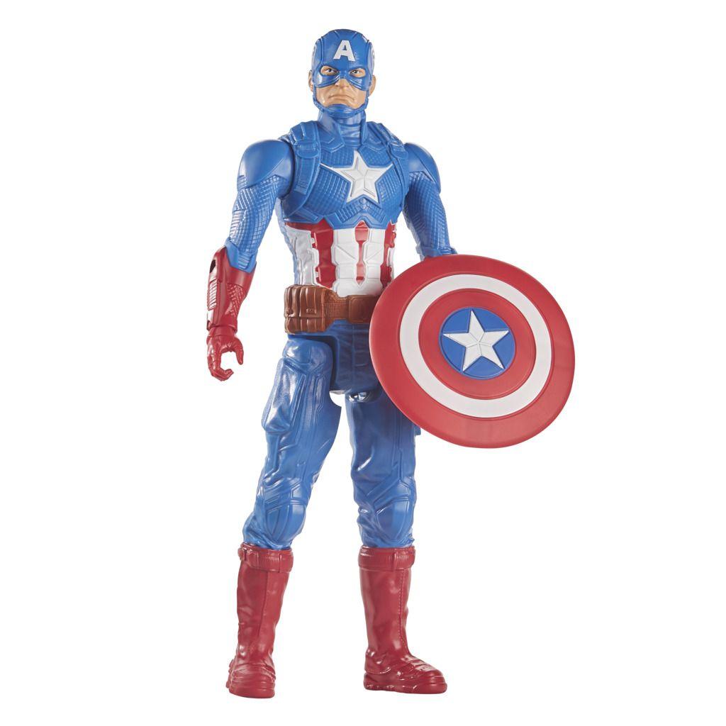 Boneco Capitão América Avengers Blast Gear Hasbro