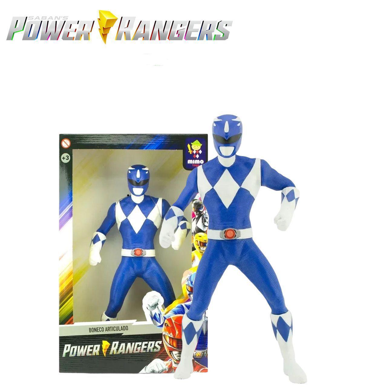 BONECO POWER RANGER AZUL