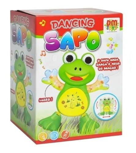 BRINQUEDO MUSICAL DANCING SAPO - DM Toys