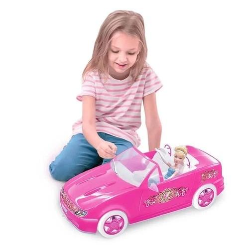 Brinquedo Carro de Boneca Super Conversível Fashion