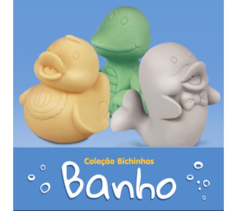 COLECAO BICHINHOS PARA BANHO DO BEBÊ