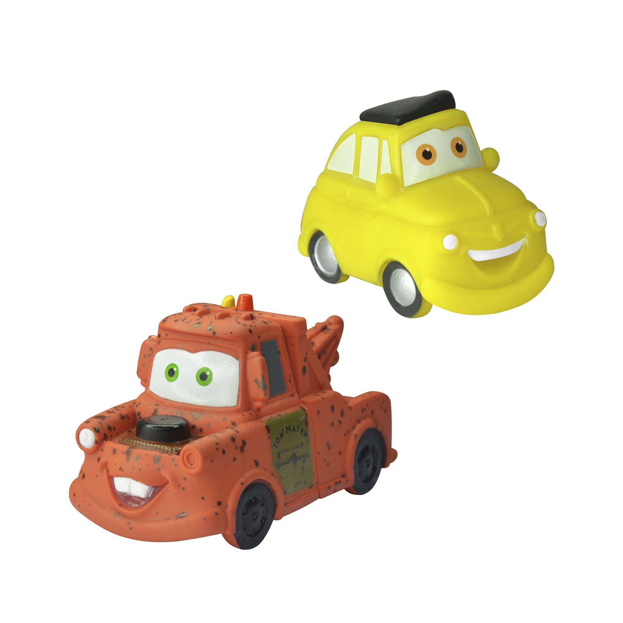 Coleção Mini Vinil Carros Luige e Tow Matter