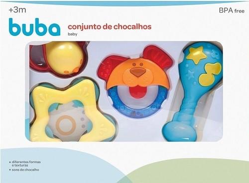 CONJ DE CHOCALHOS BABY