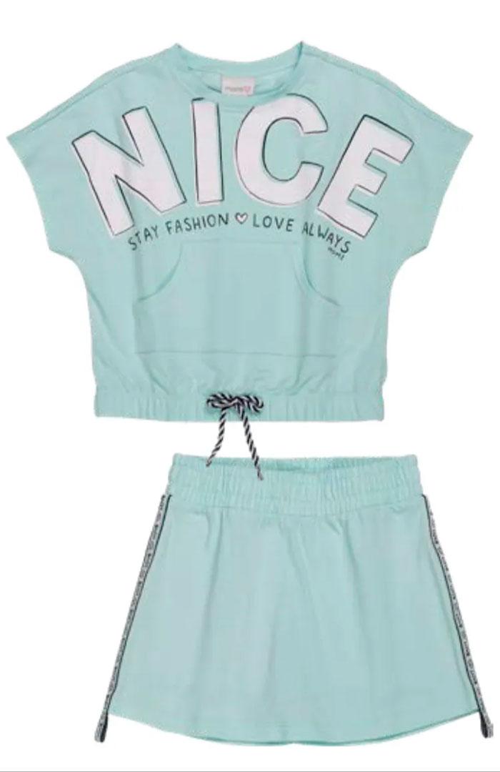 Conjunto Blusa e Short Nice Momi
