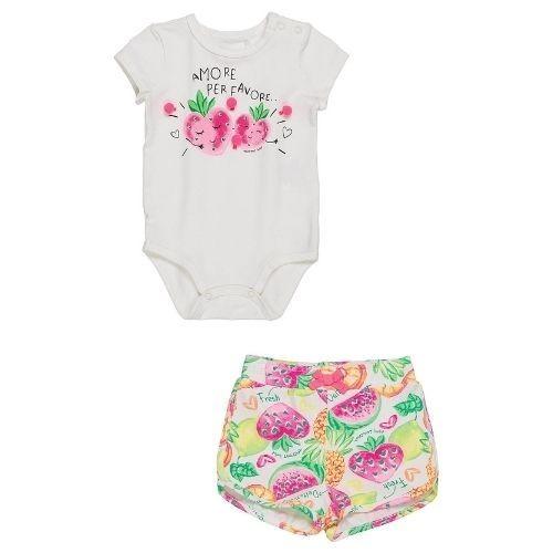 Conjunto Body e Short Amore Per Favore Momi