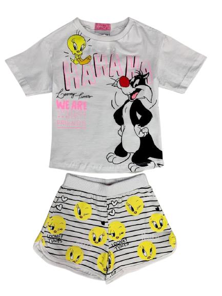 Conjunto Pijama Piu Piu e Frajola