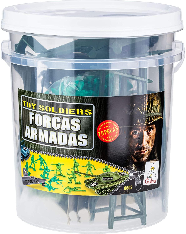 FORCAS ARMADAS PLAYSET MINIATURAS E ACESS. BRASILEIRO BALDE