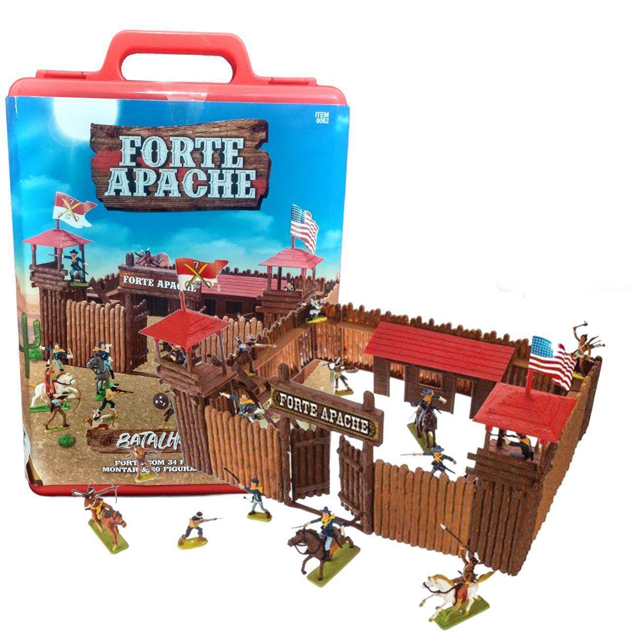 FORTE APACHE BATALHA DE LUXO PINTADOS