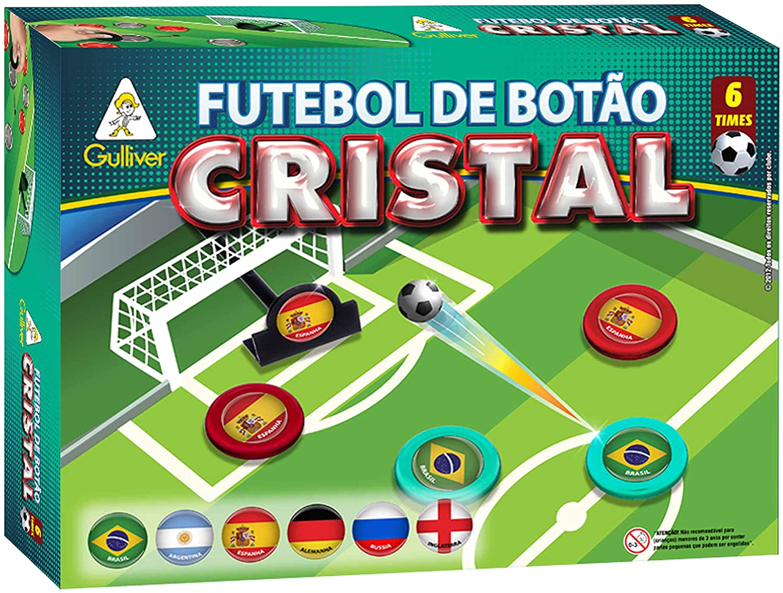 FUTEBOL DE BOTAO CRISTAL 6 TIMES COPA