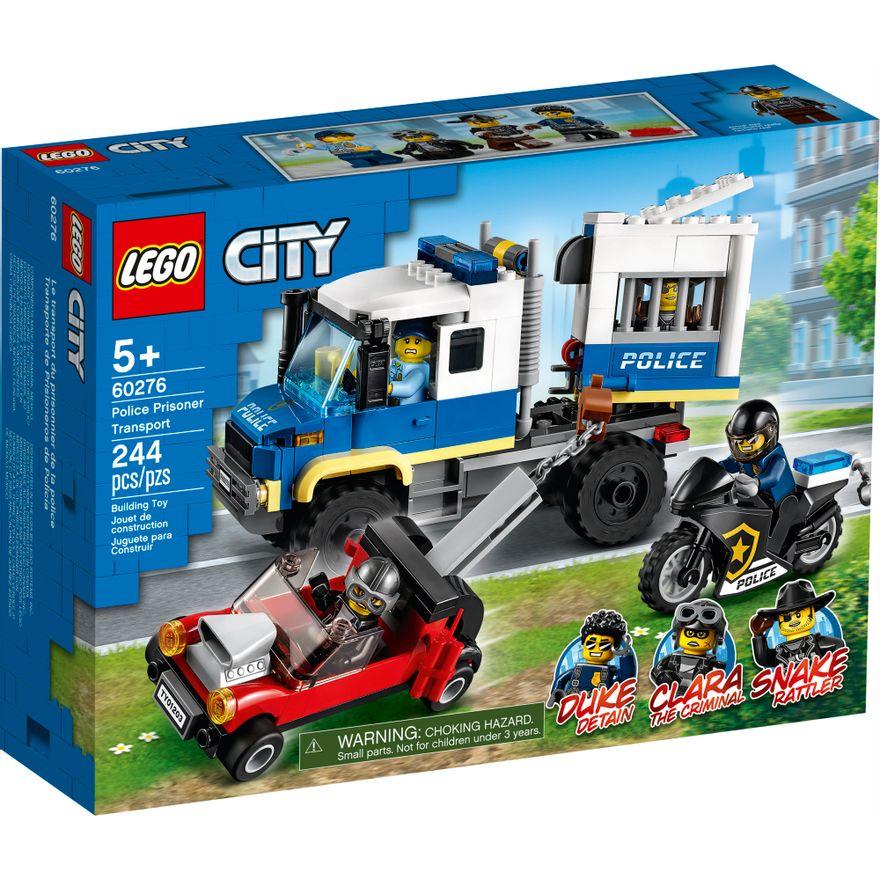 LEGO City - Transporte de Prisioneiros da Polícia