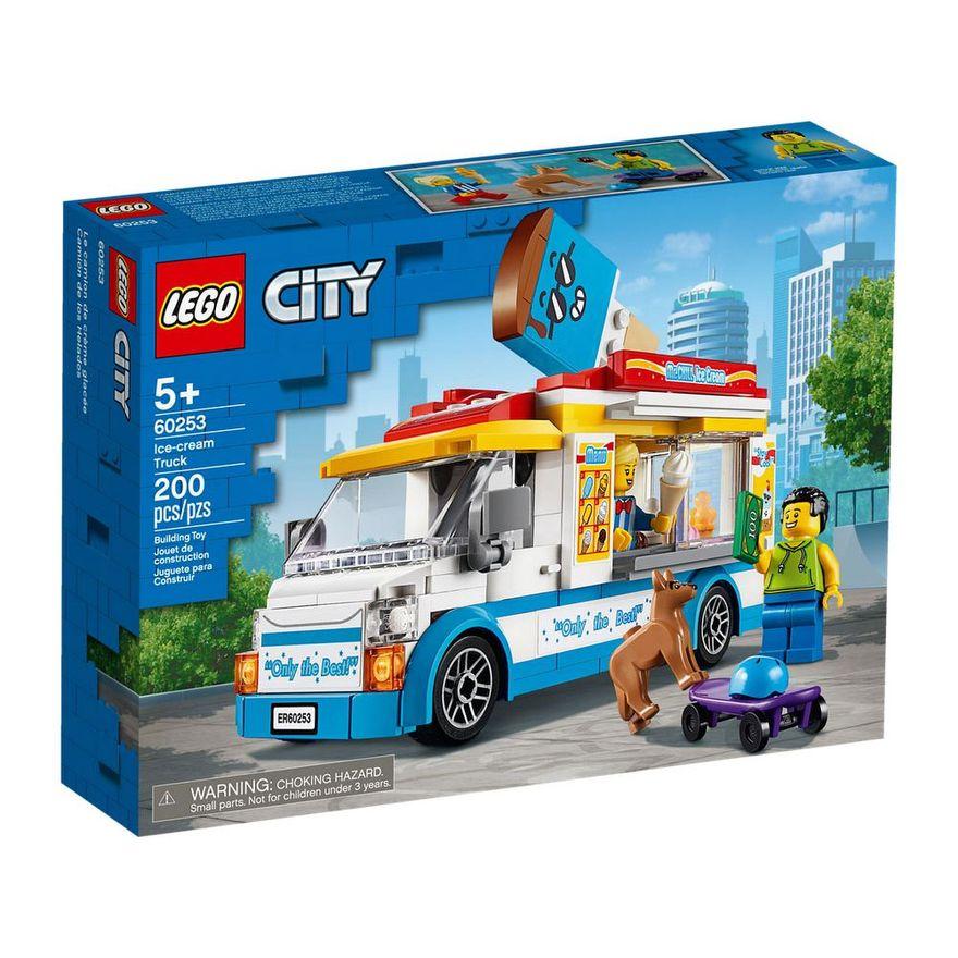 LEGO CITY VAN DE SORVETES