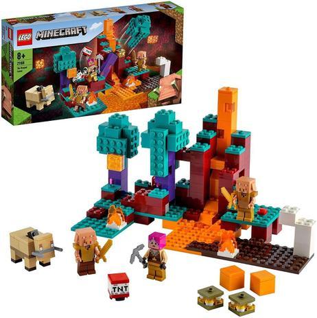 LEGO MINECRAFT - A FLORESTA DEFORMADA