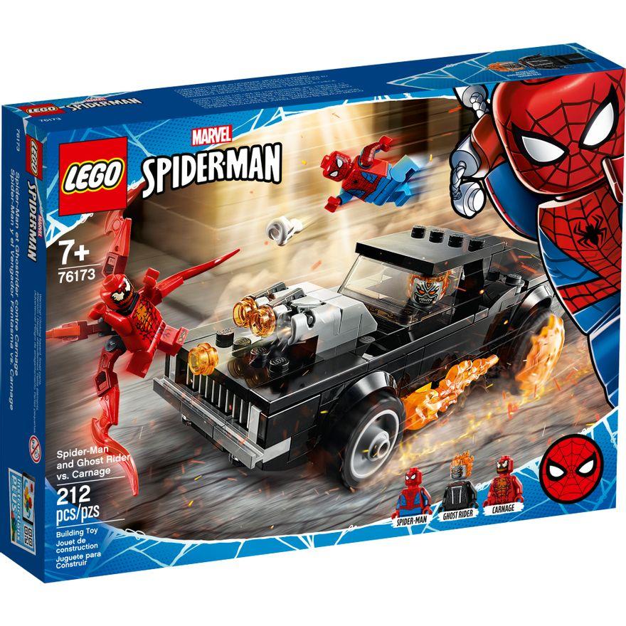 LEGO Super Heroes Marvel - Homem Aranha e Motoqueiro Fantasma vs. Carnificina