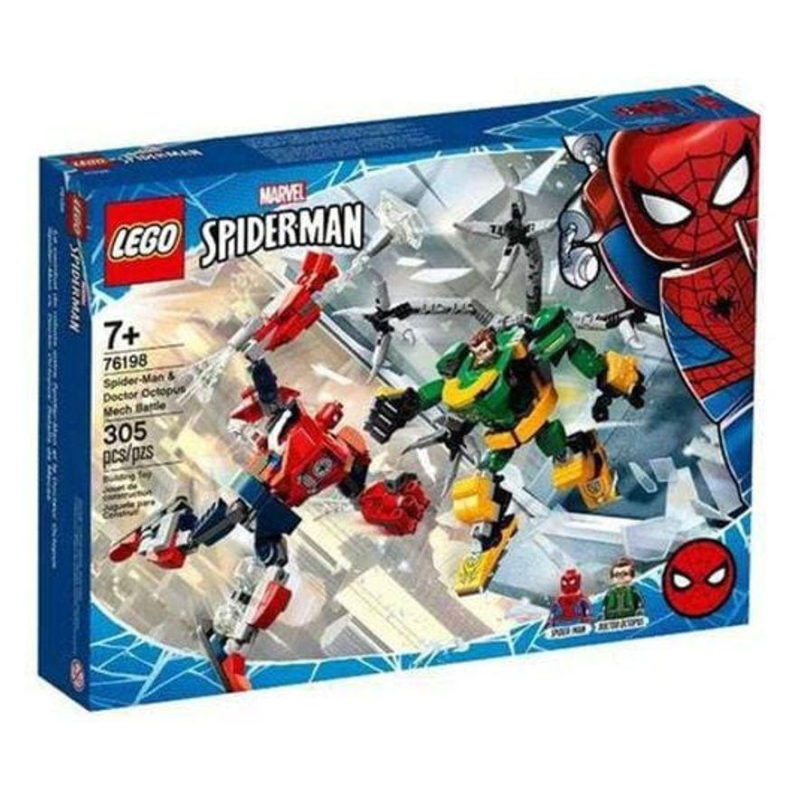 LEGO SUPER HEROIS MARVEL-COMBATE DE ROBOS - HOMEM-ARANHA E DOCTOR OCTOPUS