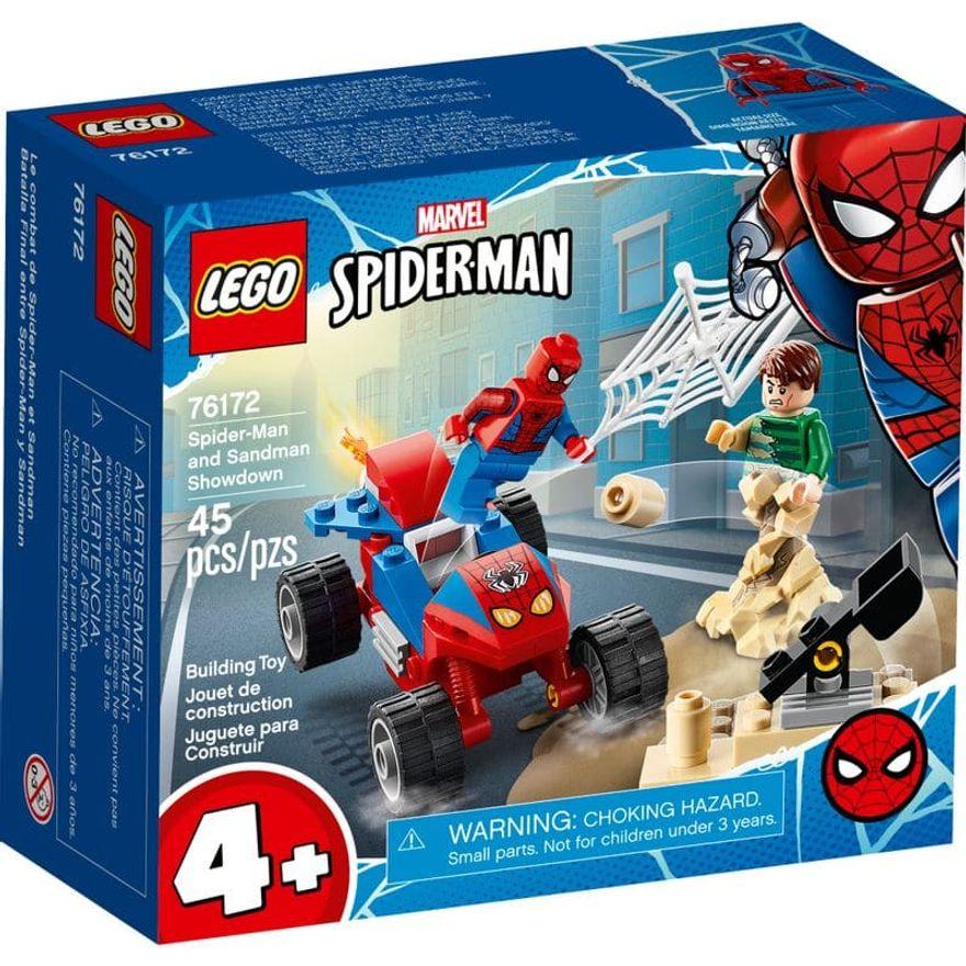 LEGO Super Herois Marvel - Confronto do Homem-Aranha e do Homem-Areia