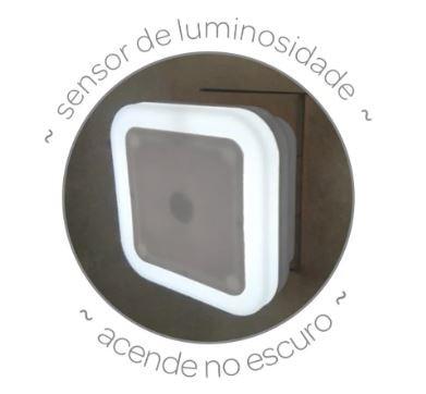Luminária Buba Léd com Sensor