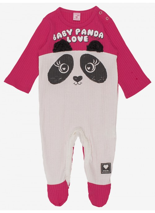 MACACAO INFANTIL PANDA COM ORELHAS