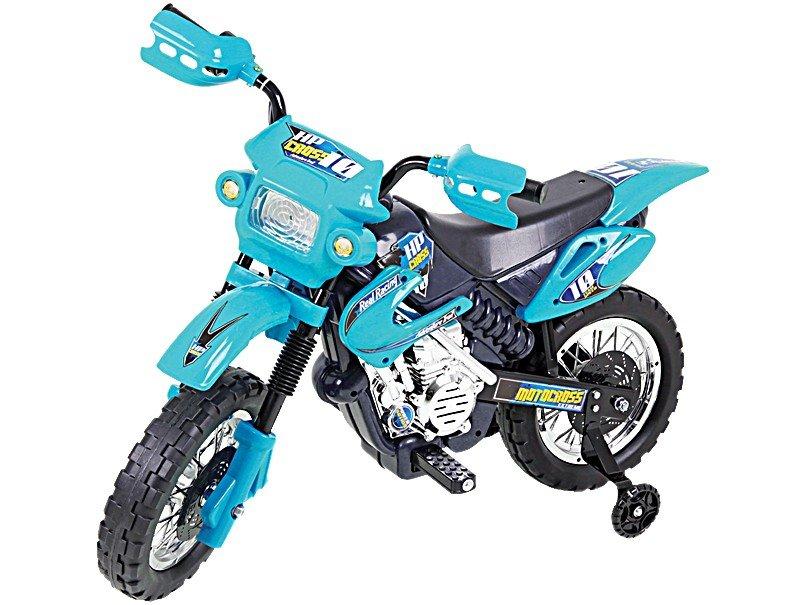 MOTO ELETRICA INF MOTOCROSS AZUL