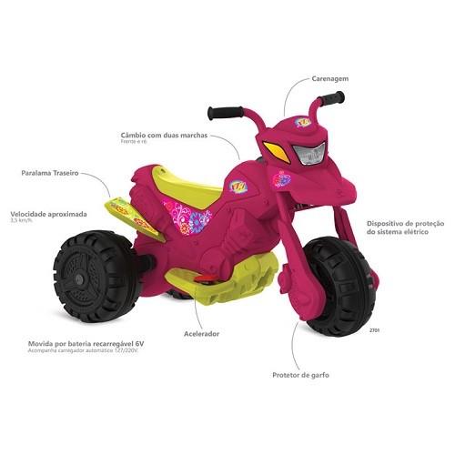 MOTO XT3 FASHION EL 6V