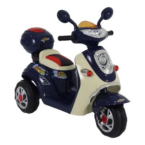 Scooter Elétrica Infantil Azul (Lambreta)